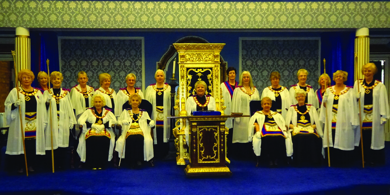The Order of Women Freemasons | Womens Freemasonry | Nationwide